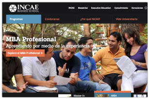 Incae Masters Website
